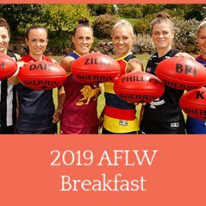 2019 AFLW Breakfast